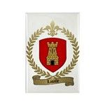 LASALLE Family Crest Rectangle Magnet (10 pack)