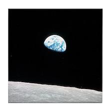 Earthrise Apollo 8 Tile Coaster