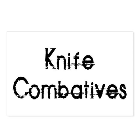 Knife Combatives Postcards (Package of 8)