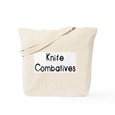 Knife Combatives Tote Bag