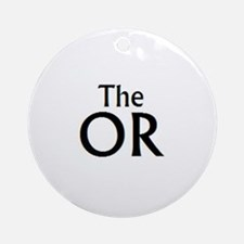 The OR 2 Ornament (Round)