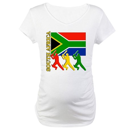 South Africa Cricket Maternity T-Shirt