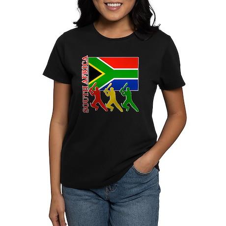 South Africa Cricket Women's Dark T-Shirt