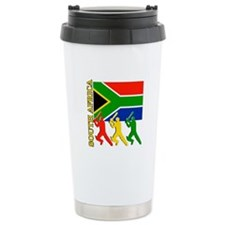 South Africa Cricket Travel Mug