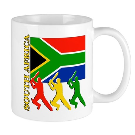 South Africa Cricket Mug