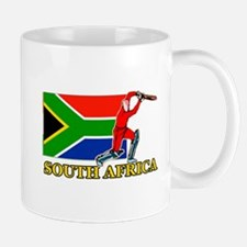 South Africa Cricket Player Mug