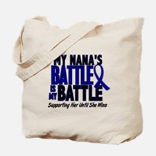 My Battle Too 1 BLUE (Nana) Tote Bag
