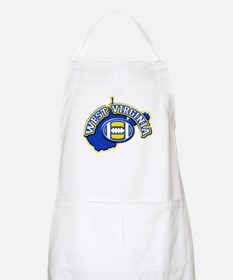 West Virginia Football BBQ Apron