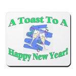 New Year's Toast Mousepad