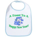 New Year's Toast Bib