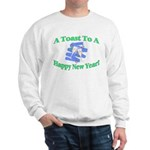 New Year's Toast Sweatshirt