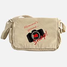 Momma's Gonna Snap Messenger Bag