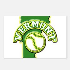 Vermont Baseball Postcards (Package of 8)