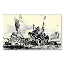 Kraken Attack 2 Rectangle Decal