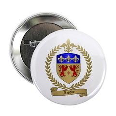 LANOUE Family Crest Button