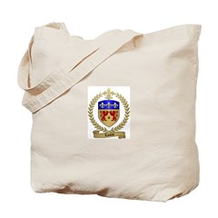 LANOUE Family Crest Tote Bag