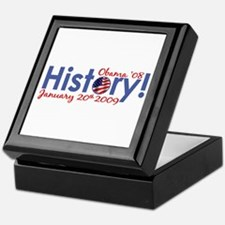 Obama History Inauguration Day Keepsake Box