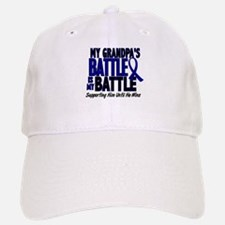 My Battle Too 1 BLUE (Grandpa) Baseball Baseball Cap