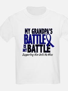 My Battle Too 1 BLUE (Grandpa) T-Shirt