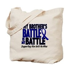 My Battle Too 1 BLUE (Brother) Tote Bag