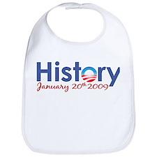 Obama History Inauguration 2009 Bib