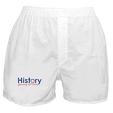 Obama History Inauguration 2009 Boxer Shorts