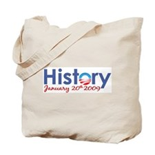 Obama History Inauguration 2009 Tote Bag