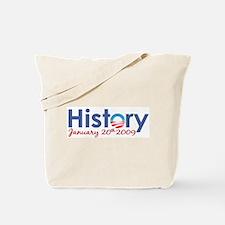 Obama History Inauguration 2009 Tote Bag