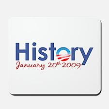 Obama History Inauguration 2009 Mousepad