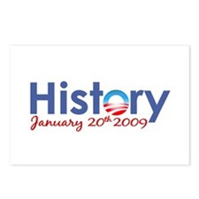 Obama History Inauguration 2009 Postcards (Package
