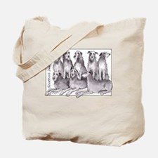 Cute Scottish deerhound Tote Bag