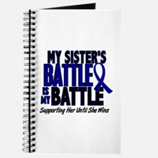 My Battle Too 1 BLUE (Sister) Journal