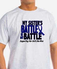 My Battle Too 1 BLUE (Sister) T-Shirt