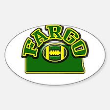 Fargo Football Oval Decal