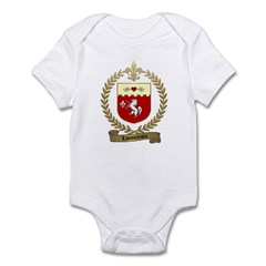 LAMOUREUX Family Crest Infant Creeper