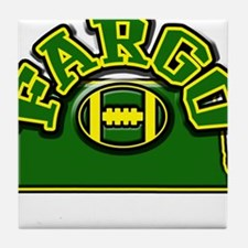 Fargo Football Tile Coaster