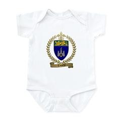 LAMOTHE Family Crest Infant Creeper