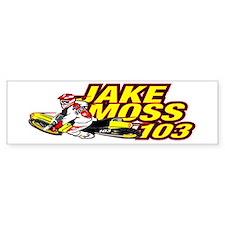 Jake Moss Cartoon Bumper Bumper Sticker