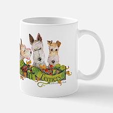 Fox Terrier Trio Mug