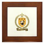 LAMONTAGNE Family Crest Framed Tile