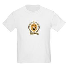 LAMONTAGNE Family Crest Kids T-Shirt