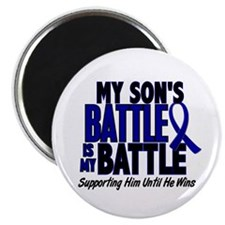 My Battle Too 1 BLUE (Son) Magnet