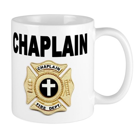 Fire Chaplain Coffee Mug