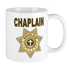 Chaplain 7 Point Star brown Coffee Mug