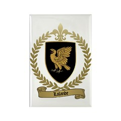 LALANDE Family Crest Rectangle Magnet (10 pack)