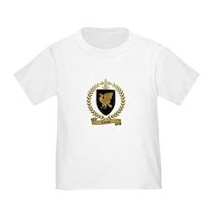 LALANDE Family Crest Toddler T-Shirt