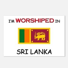 I'm Worshiped In SRI LANKA Postcards (Package of 8
