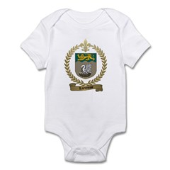 LAJEUNESSE Family Crest Infant Creeper