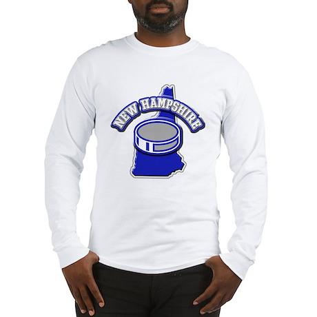 New Hampshire Hockey Long Sleeve T-Shirt