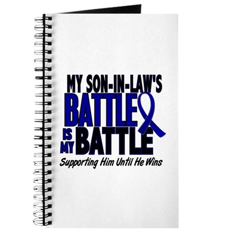My Battle Too 1 BLUE (Son-In-Law) Journal